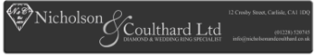 Nicholson and Coulthard, Jewellers in Carlisle, Cumbria