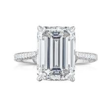 Emerald Cut Diamond Rings in Carlisle from Nicholson and Coulthard, Jewellers