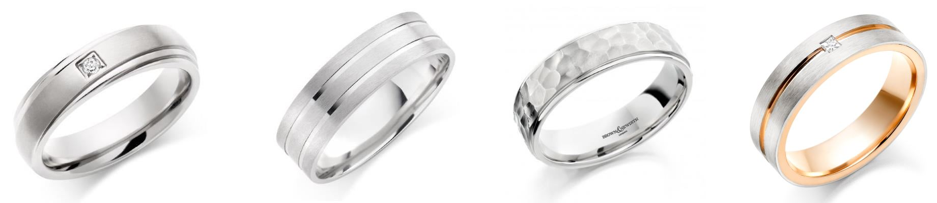 Gents Wedding Rings in Carlisle