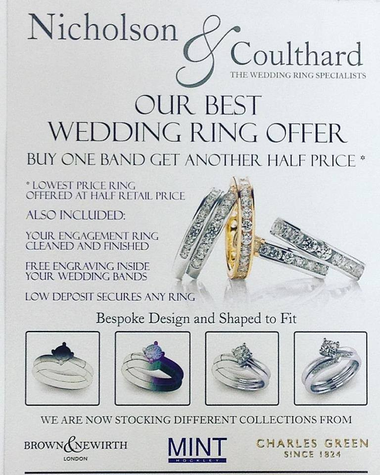 Wedding ring offer