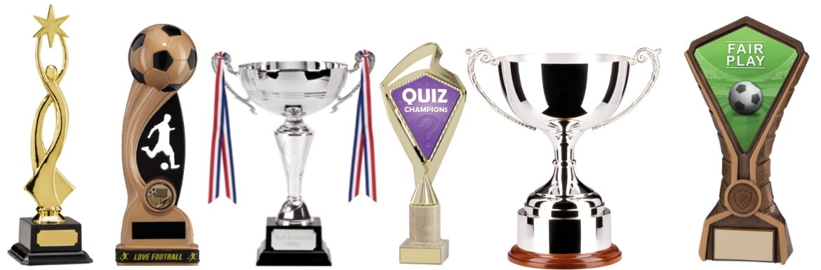 Personalised trophies produced in Carlisle, Cumbria